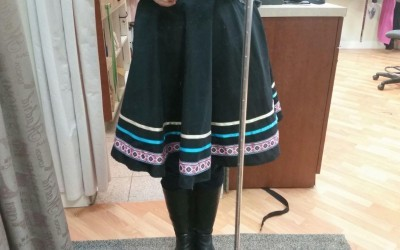 Dancing Character Skirts – we can add tape